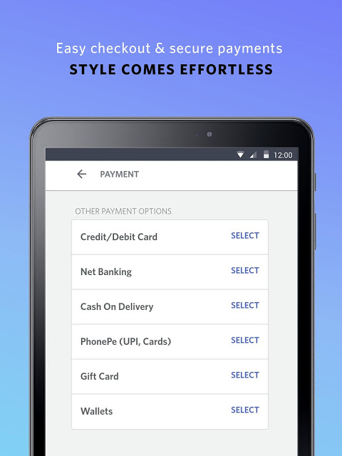 Android Myntra Online Shopping App Screen 12