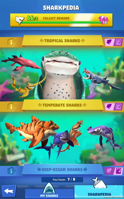Android Hungry Shark Heroes Screen 13