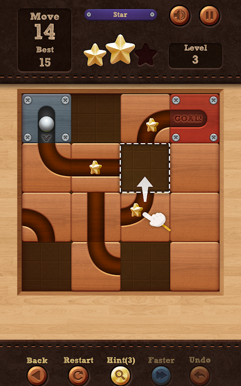 Roll the Ball� - slide puzzle 1.7.46 Screen 8