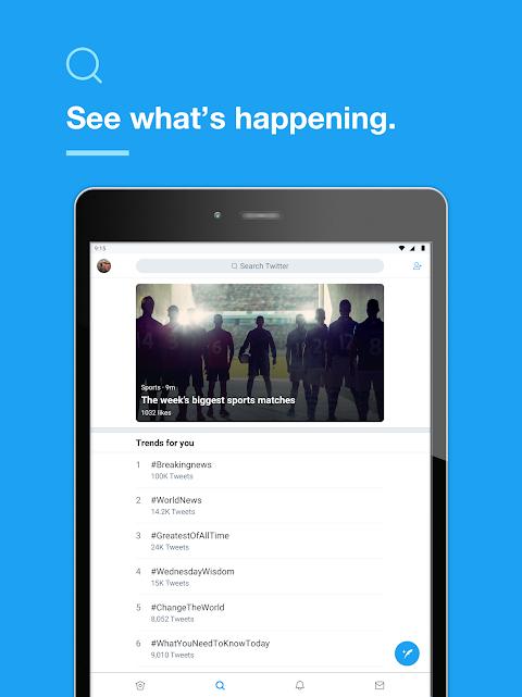 Twitter 7.96.0-release.58 Screen 2