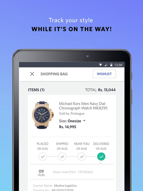 Android Myntra Online Shopping App Screen 17