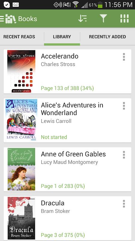 Aldiko Book Reader 3.1.3 Screen 6