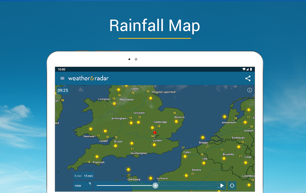 Weather & Radar UK / Ireland 2019.1.1 Screen 1
