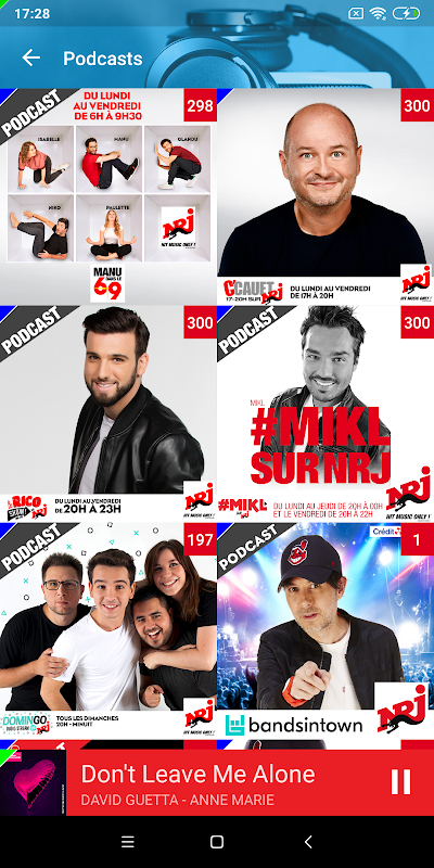 NRJ Radios 4.5.1 Screen 3