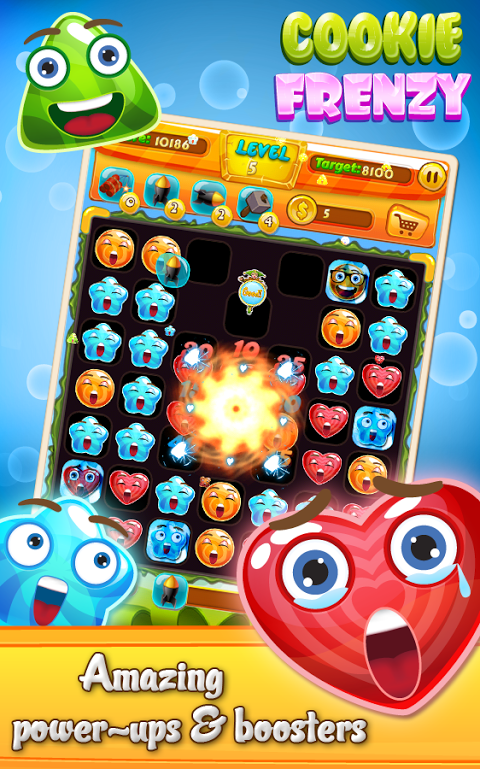 Android Cookie Frenzy Screen 3