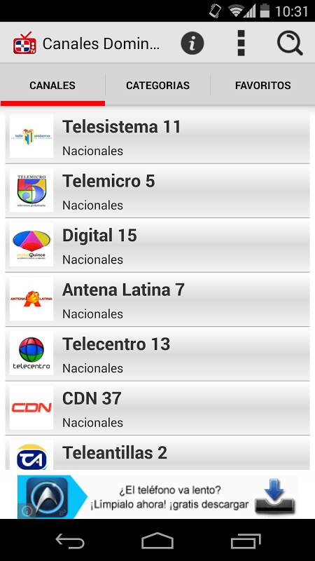 descargar canales dominicanos gratis