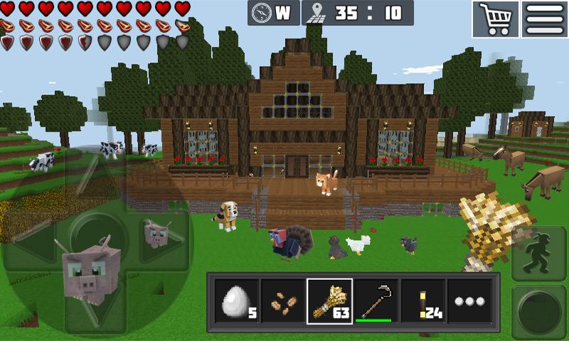 WorldCraft : 3D Build & Craft 3.1 Screen 1