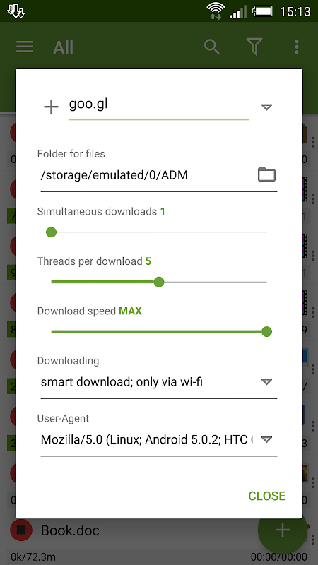 Advanced Download Manager 7.5 Screen 10