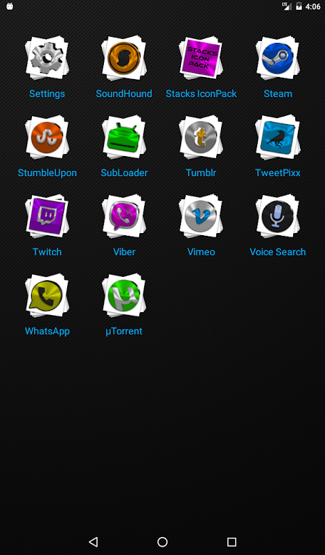 Android Stacks Icon Pack v4.2 Screen 19