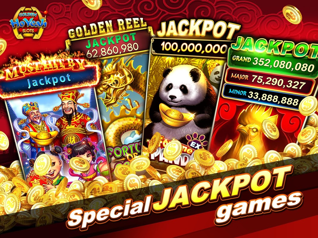Slots (Golden HoYeah) - Casino Slots 2.3.0 Screen 8