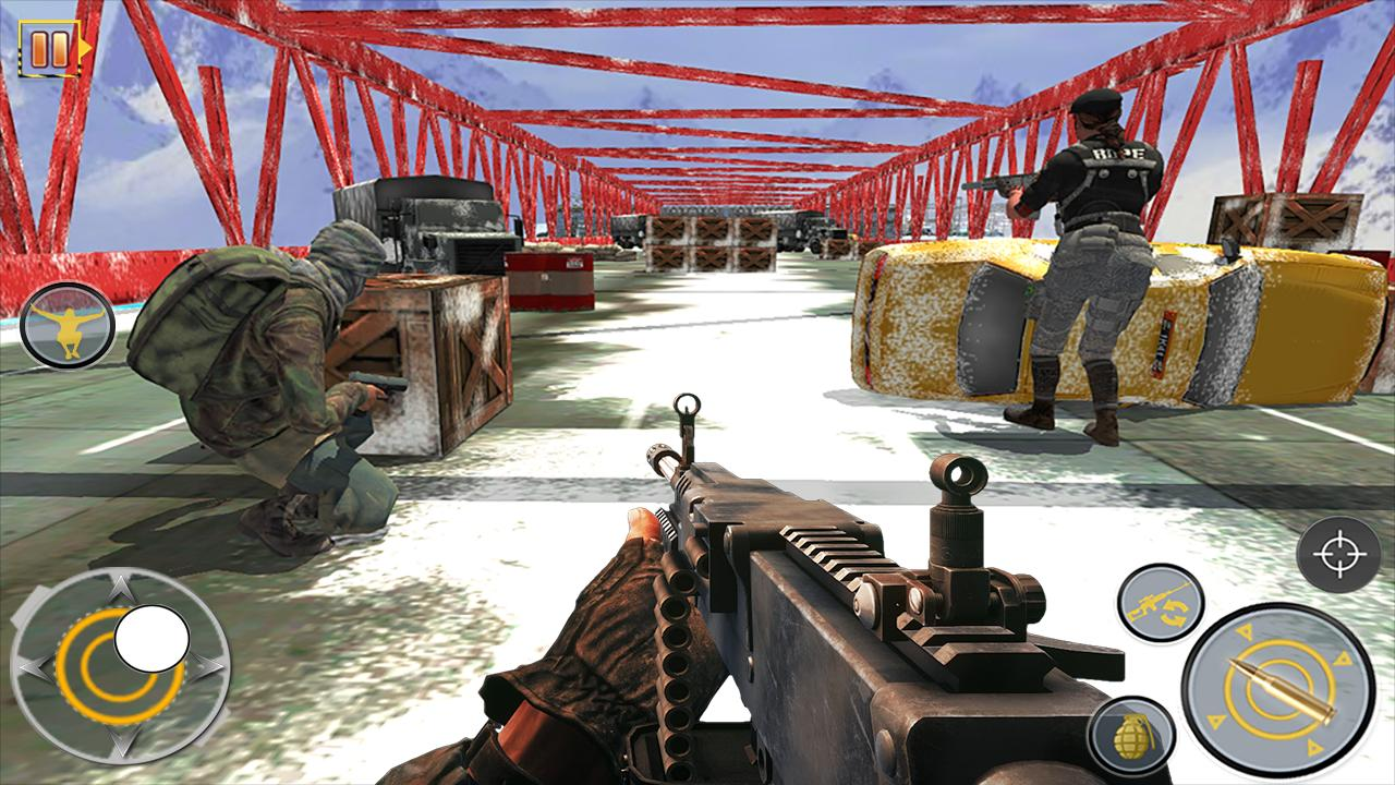 Android Free Fire Shooting Battleground: Gun Shooting Game Screen 1