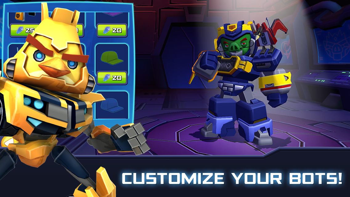 Angry Birds Transformers 1.35.8 Screen 2