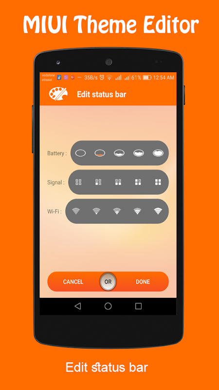 Android Theme Editor For MIUI Screen 2