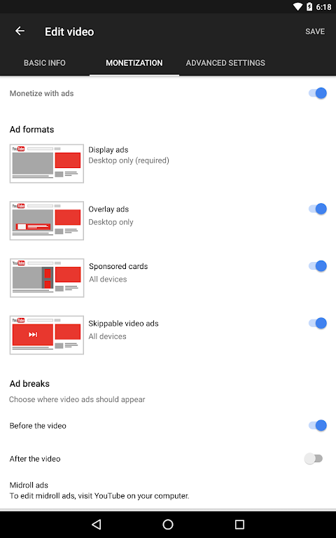 YouTube Studio 18.48.100 Screen 12