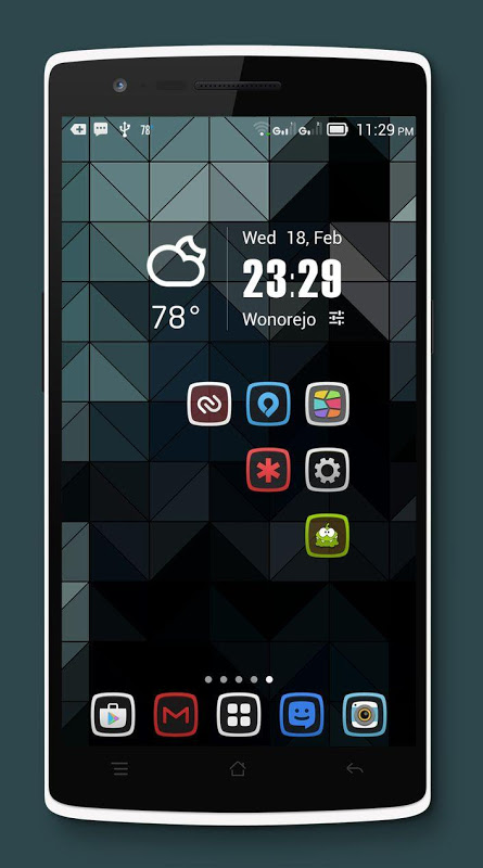 Android Tembus - Icon Pack Screen 5