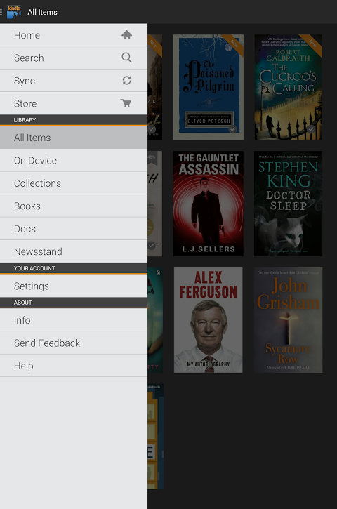 Android Kindle Screen 4