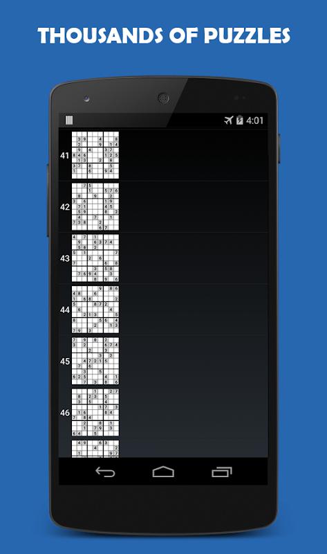 Sudoku 1.8.0 Screen 3