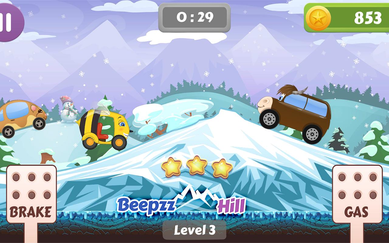 Beepzz Hill - racing game for kids 1.0.5 Screen 4