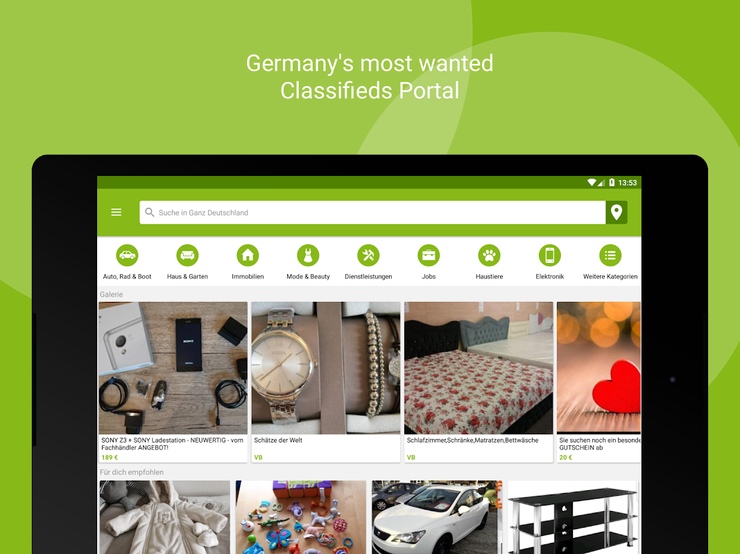 eBay Kleinanzeigen for Germany 8.8.0 Screen 6