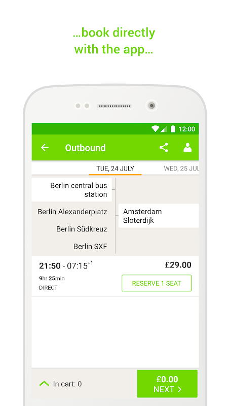 FlixBus - Bus Travel in Europe 5.9.1 Screen 3