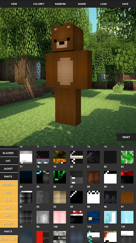 Custom Skin Creator For Minecraft 5.6 Screen 5