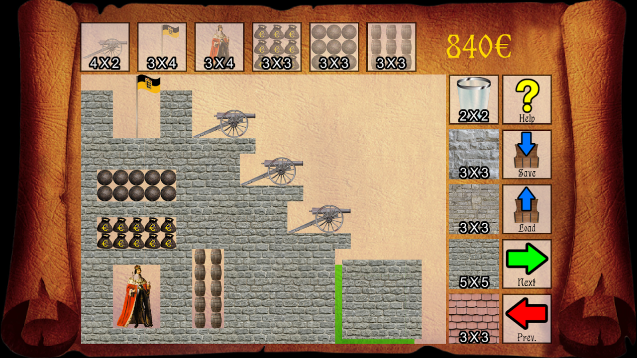 Android Castle Artillery Screen 1