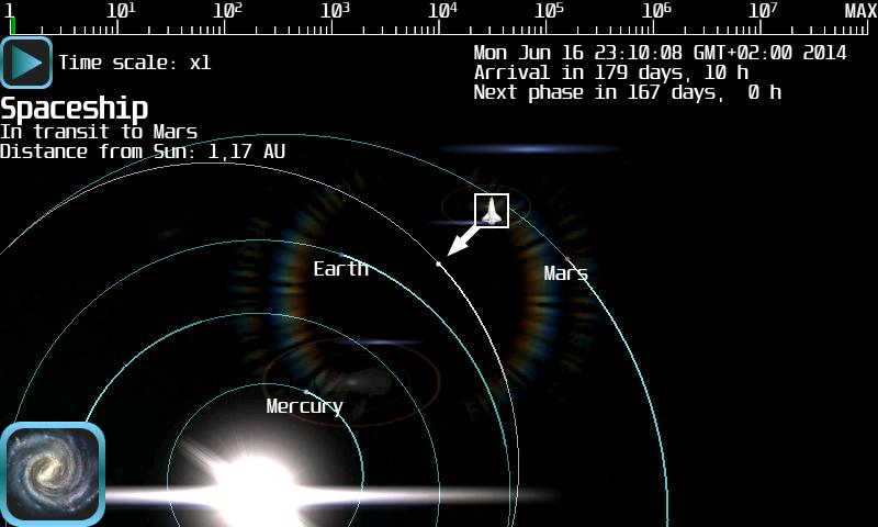 Android Space Flight Simulator Lite Screen 5