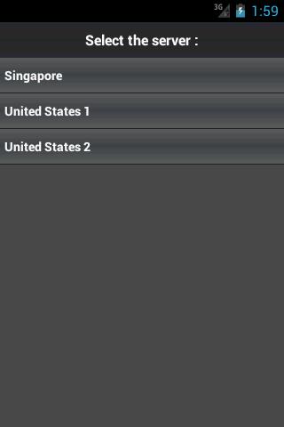 Private VPN Proxy Free 1.0.1 Screen 1