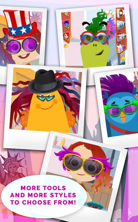Android Kids Hair Salon Saga – KinToons Screen 6