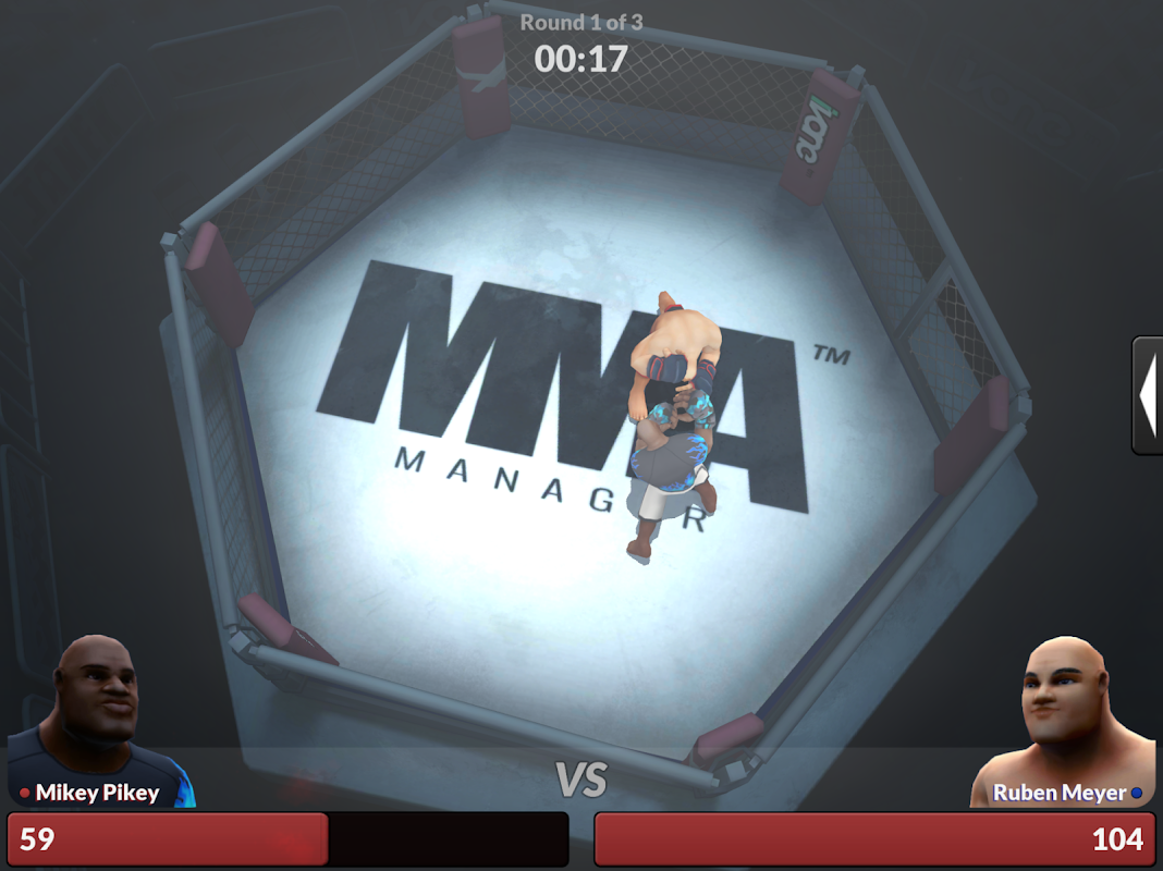 MMA Manager 0.8.4 Screen 8
