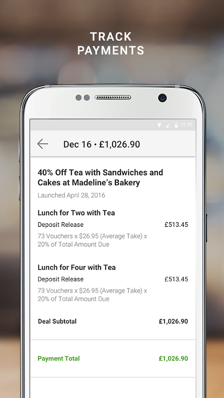 Android Groupon Merchants Screen 3