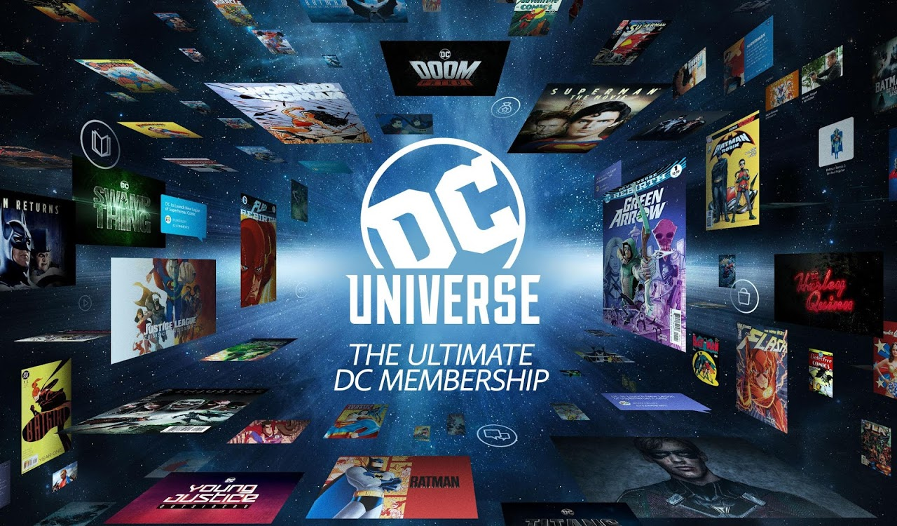 Android DC Universe - Android TV Screen 8