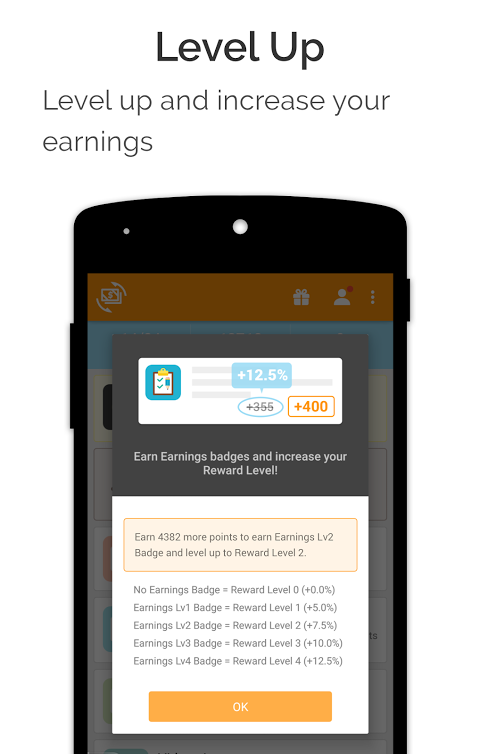 Android cashKarma Rewards & Gift Cards Screen 3