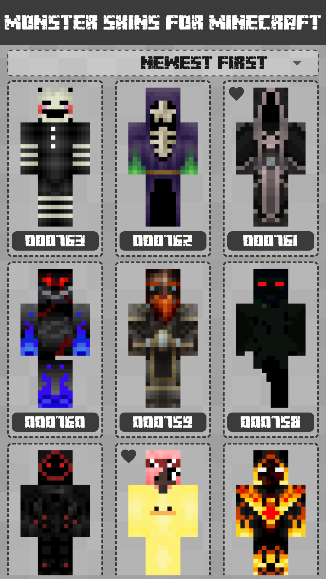 Android Monster Skins for Minecraft PE Screen 2