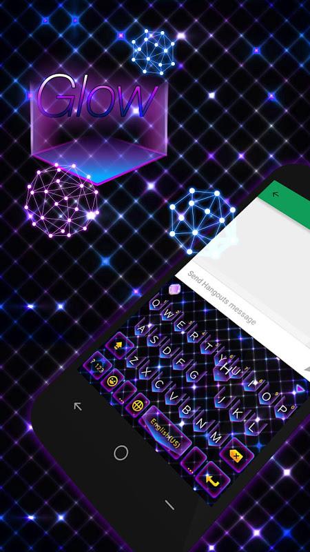 Glow Theme for Kika Keyboard APKs   Android APK