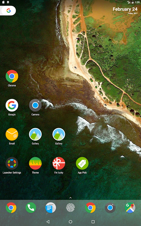 Android N Launcher Pro - Nougat 7.0 Screen 8