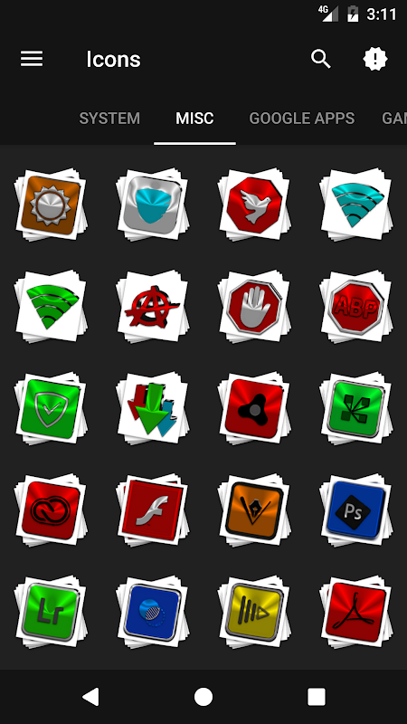 Android Stacks Icon Pack v4.2 Screen 5