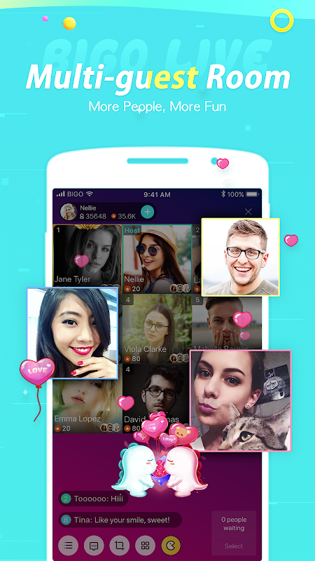BIGO LIVE - Live Stream, Live Video & Live Chat 4.4.1 Screen 3