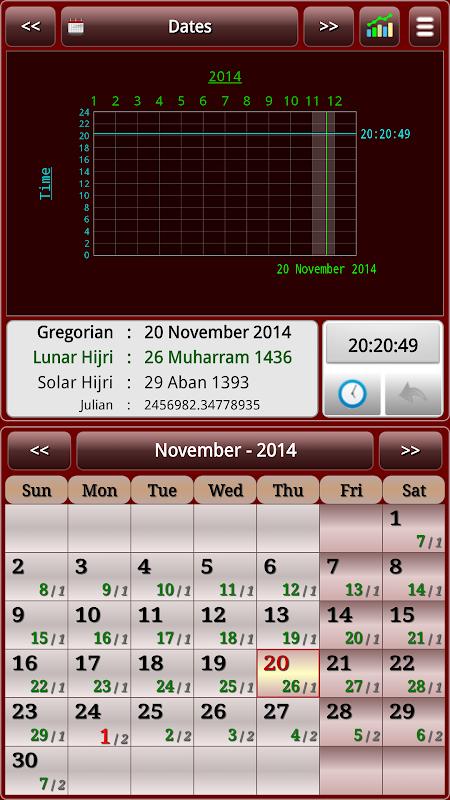 Sun & Moon Calendar v3.6.0 Screen 22