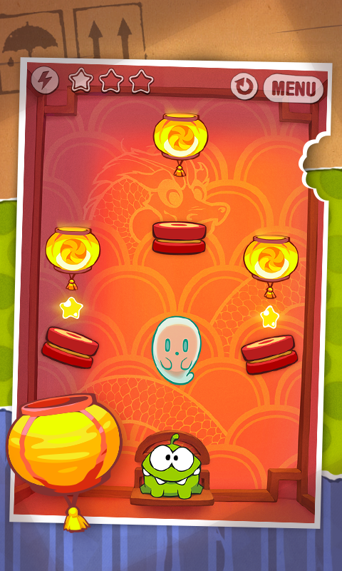 Android Cut the Rope FULL FREE Screen 4