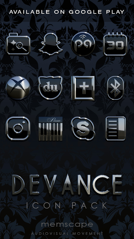 DEVANCE Poweramp skin 3.08 Screen 2