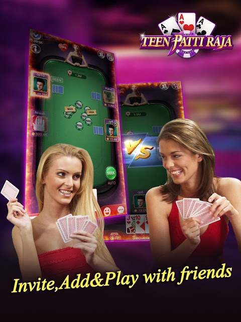 Android Teen Patti Raja- Indian poker and 3 patti free casino game Screen 7