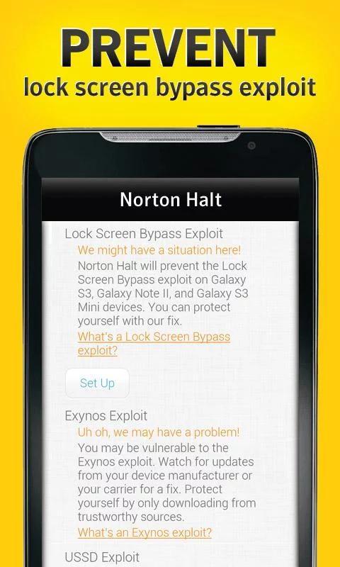Norton Halt exploit defender 6.4.0.236 Screen 10