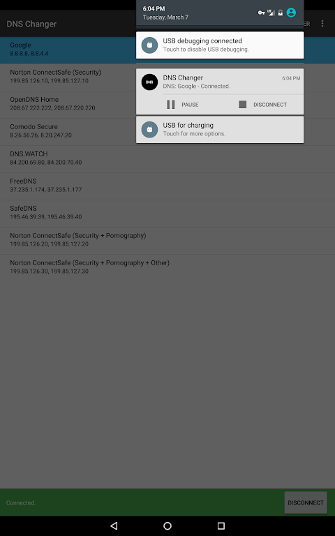 DNS Changer - Lilly 1 6 APK Download by Aykut Çevik