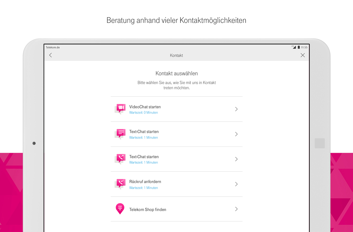 Android MagentaSERVICE Screen 12