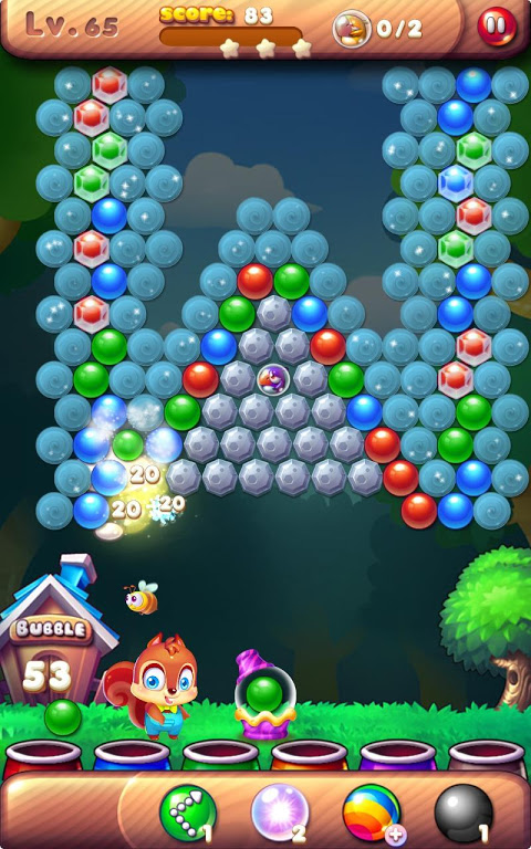 Android Bubble Bird Rescue 2 - Shoot! Screen 3