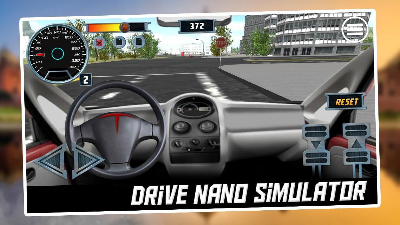 Android Drive Nano Simulator Screen 1