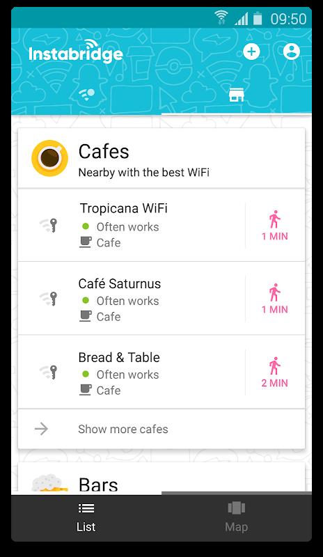 Instabridge - Free WiFi 14.9.0armeabi-v7a Screen 4