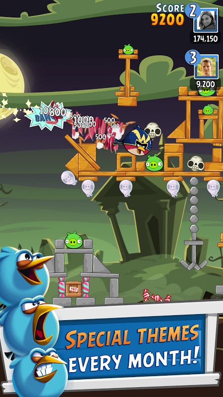 Android Angry Birds Friends Screen 7