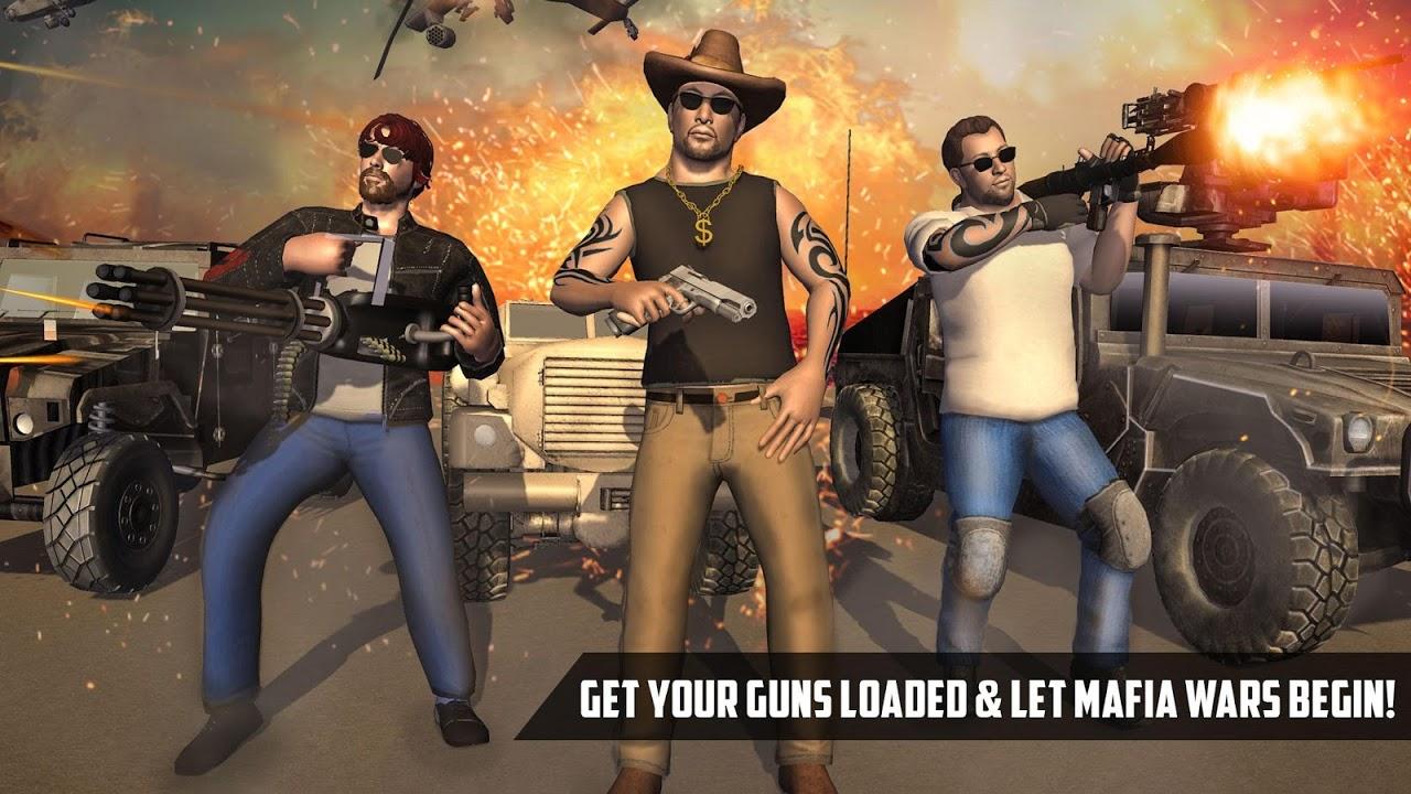 Android Real gangster fight:  Miami crime vs  Miami police Screen 1